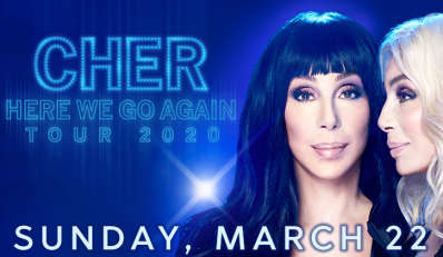 CHER Here We Go Again Tour 2020