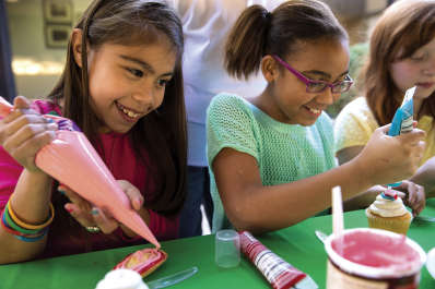 Summer Camp Re-Imagined: Girl Scouts at the Table
