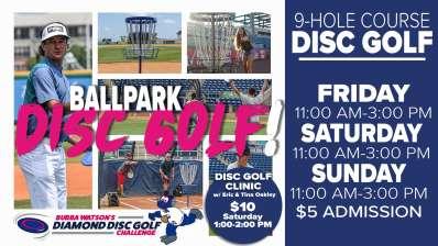 Ballpark Disc Golf Clinic