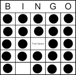 Blacked Out Bingo