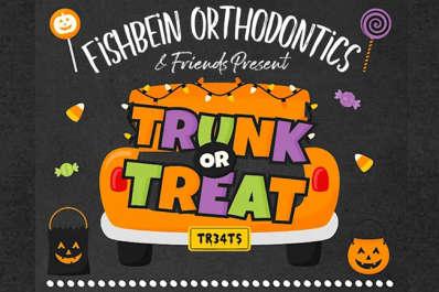 Fishbein Orthodontics Trunk or Treat