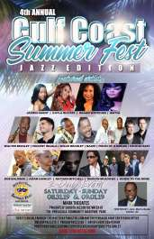 2019 4th Annual Gulf Coast Summer Fest - Jazz Edition