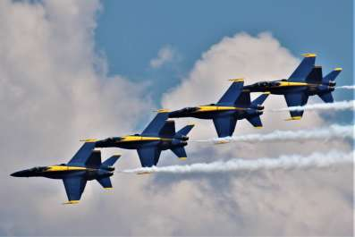 Blue Angels Homecoming Practice Cruises