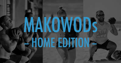 Free Daily Home Workouts from Mako Athletics