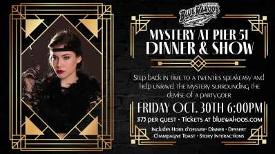 Blue Wahoos To Host Halloween Murder Mystery Dinner And Movie