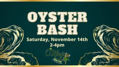 O'Riley's Oyster Bash