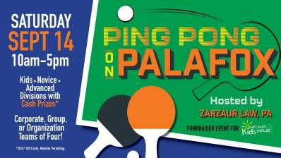 Ping Pong on Palafox Tournament