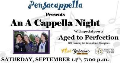 Pensacappella Presents: a Night of A Cappella