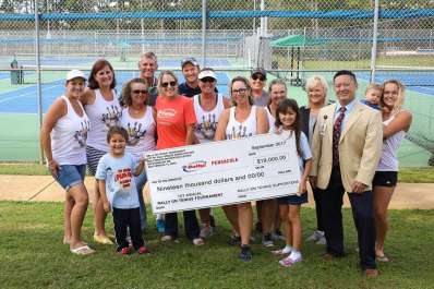 Rally On Tennis Tournament to Ace Out Childhood Cancer