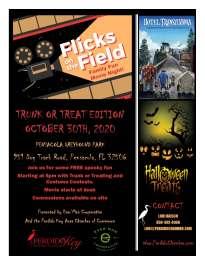 Flicks on the Field Halloween Edition featuring  Hotel Transylvania