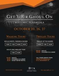 Haunted House Walking and Trolley Tours