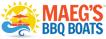 Maeg's BBQ Boats Logo