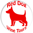 Red Dog Wine Tours Logo