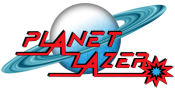 Planet Lazer Logo
