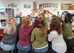 Ladies' Night at Grizzly Axes