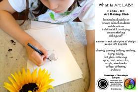 Art Lab- Ages 9-14