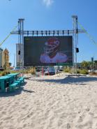 NFL Football Watch Party on the beach