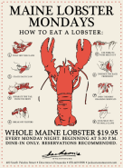 Maine Lobster Monday