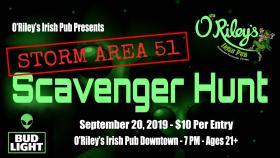 Gallery Night - Storm Area 51 Scavenger Hunt
