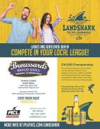 Fridays ~ LandShark CO-ED Cornhole Series at Broussard's Pensacola