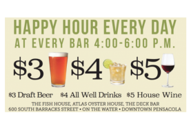 Happy Hour at Atlas Oyster House