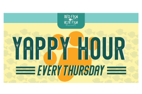 Yappy Hour Every Thursday