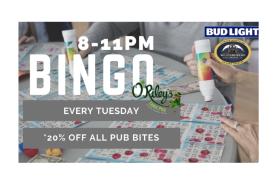 O'Riley's Bingo night