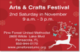 Pine Forest United Methodist Church 30th Annual Arts & Crafts Festival
