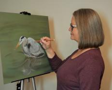 "Thursdays ""Meet the Artist"" ~ Heather Mitchell"