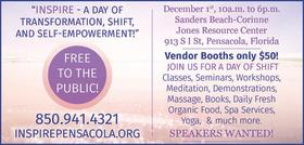 Inspire Pensacola: A day of transformation, shift, and self-empowerment!
