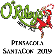 Pensacola SantaCon 2019 presented by O'Riley's Irish Pub