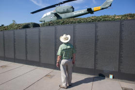 Veterans Memorial Park and Wall South