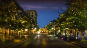 Downtown Pensacola Holiday Lighting Ceremony