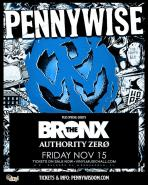 Pennywise Performers: Pennywise The Bronx Authority Zer