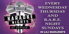 Karaoke ~ Wednesday & Thursday