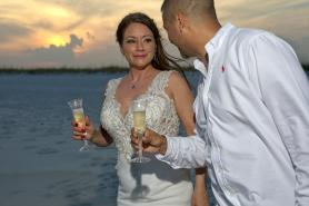 Pensacola Beach Sunset Weddings