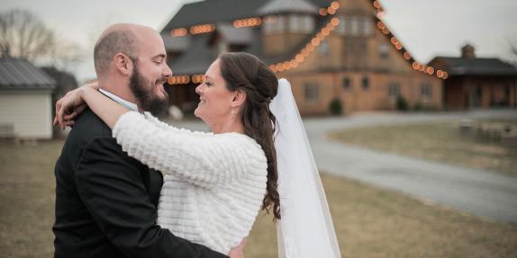 Stone Tower Winery Wedding Photo
