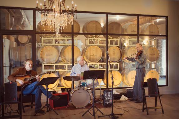 music barrel room