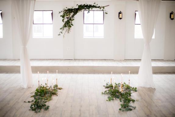 48 Fields Lower Level Indoor Wedding Ceremony