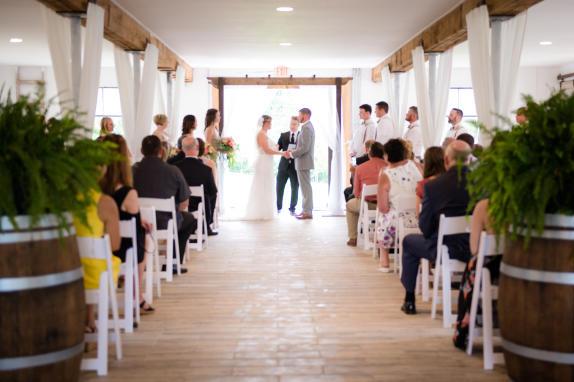 48 Fields Lower Level Wedding Ceremony