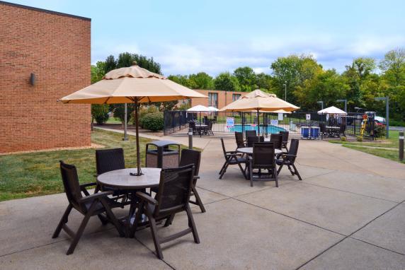 Best Western Leesburg - Patio by the Pool