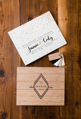 Custom Photo Guest Books