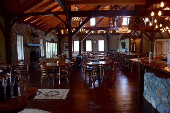Beautiful amish-built tasting room