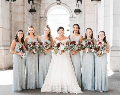 Bride & Bridesmaids Portrait