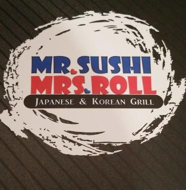 Mr. Sushi & Mrs. Roll Logo
