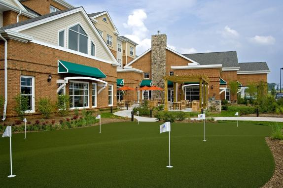 Residence Inn Dulles Airport at Dulles 28 Centre Putting Green