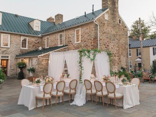 Wedding Reception on The Garden Terrace