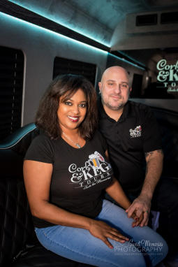 Cork and Keg Tours Owners, Don and Renee Ventrice