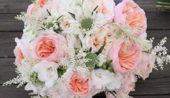Designing Flowers Bride