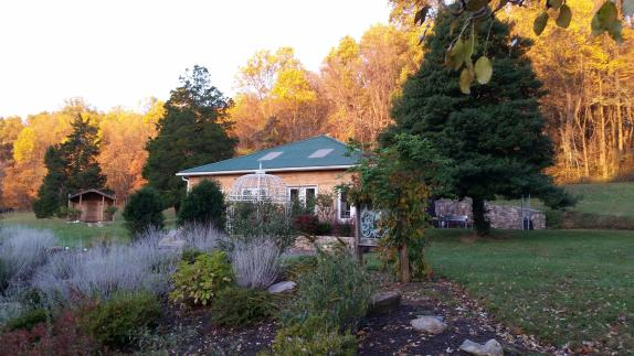 Solarium in Late October/ Early November